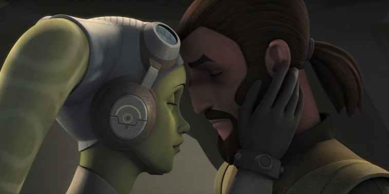 Hera and Kanan in Star Wars Rebels | Disney XD