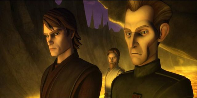 Tarkin and Anakin Skywalker | The Clone Wars