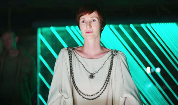 Mon Mothma in Rogue One: A Star Wars Story.
